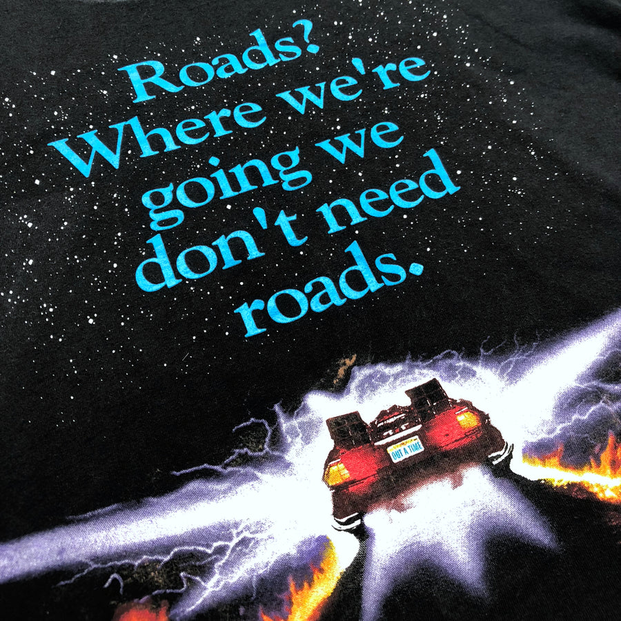 1989 Back to the Future 'Roads' T-Shirt