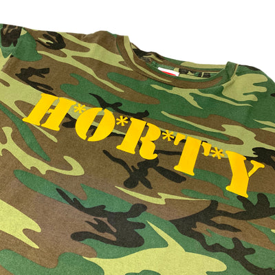 Late 90's Shorty's 'S' Sleeve Camo T-Shirt