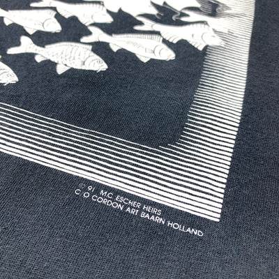 1991 M.C. Escher Sky & Water Graphic T-Shirt