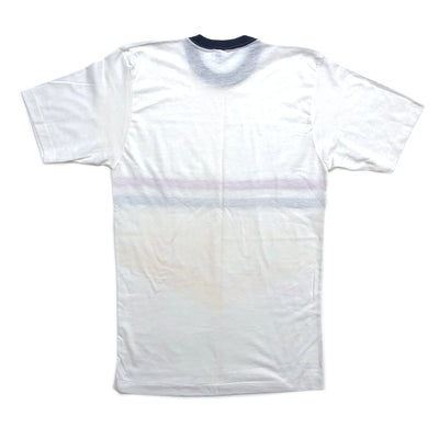 80'S Champion 3 Stripe Ribbing T-Shirt