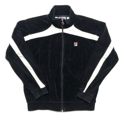 90's Fila Velour Zip Track Jacket