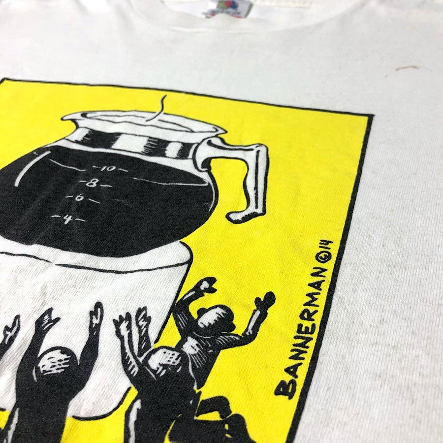 90's Coffee Worship T-Shirt