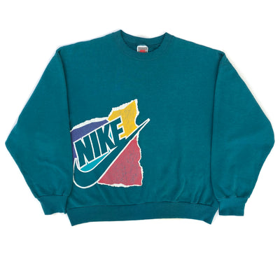 90's Nike Logo Graphic Sweatshirt