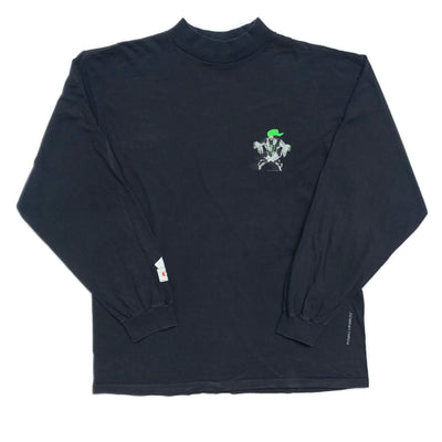 Early 90's Powell Peralta Mock Neck L/S T-Shirt