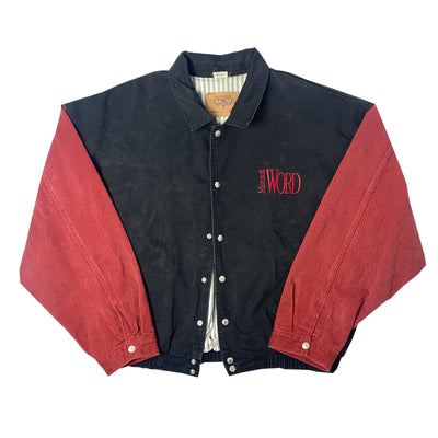 90's Microsoft Word Denim Jacket