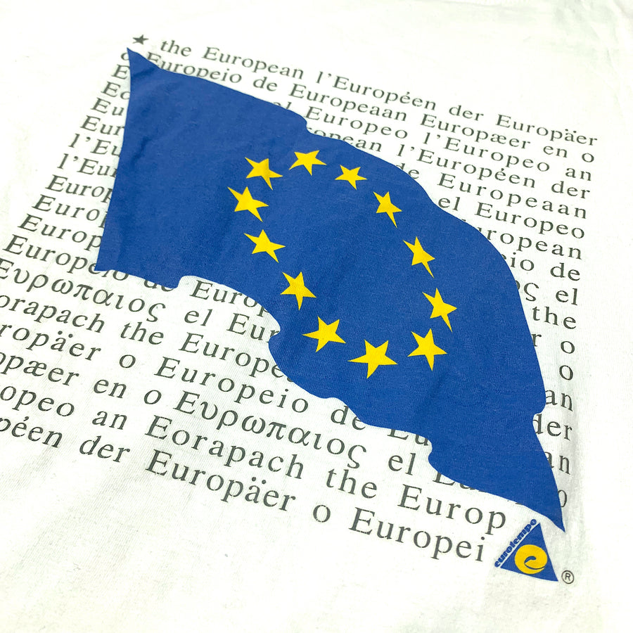 Mid 90's EU Flag Graphic T-Shirt