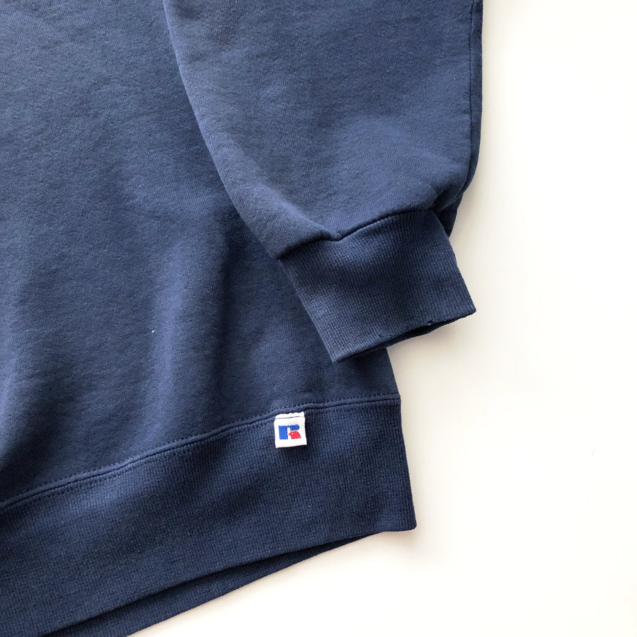 90s Russell Athletic Navy Pullover Sweatshirt