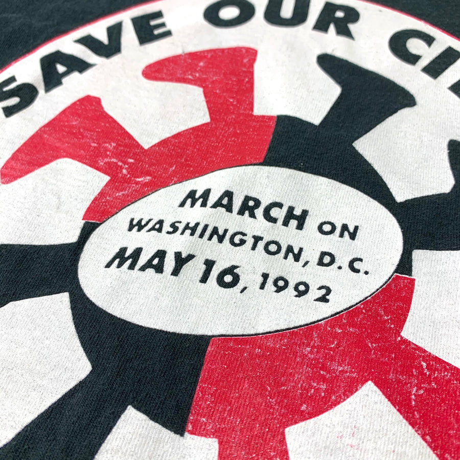 1992 Save Our Cities/Children T-Shirt