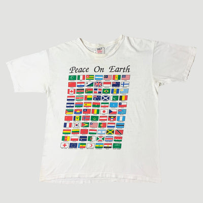 Mid 80's Peace On Earth T-Shirt