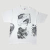 1990 MC Escher all over print T-Shirt