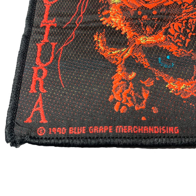 1990 Sepultura 'Beneath The Remains' Patch