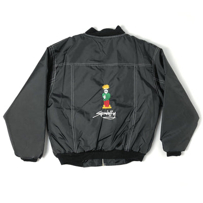 90's Spliffy Bomber Jacket
