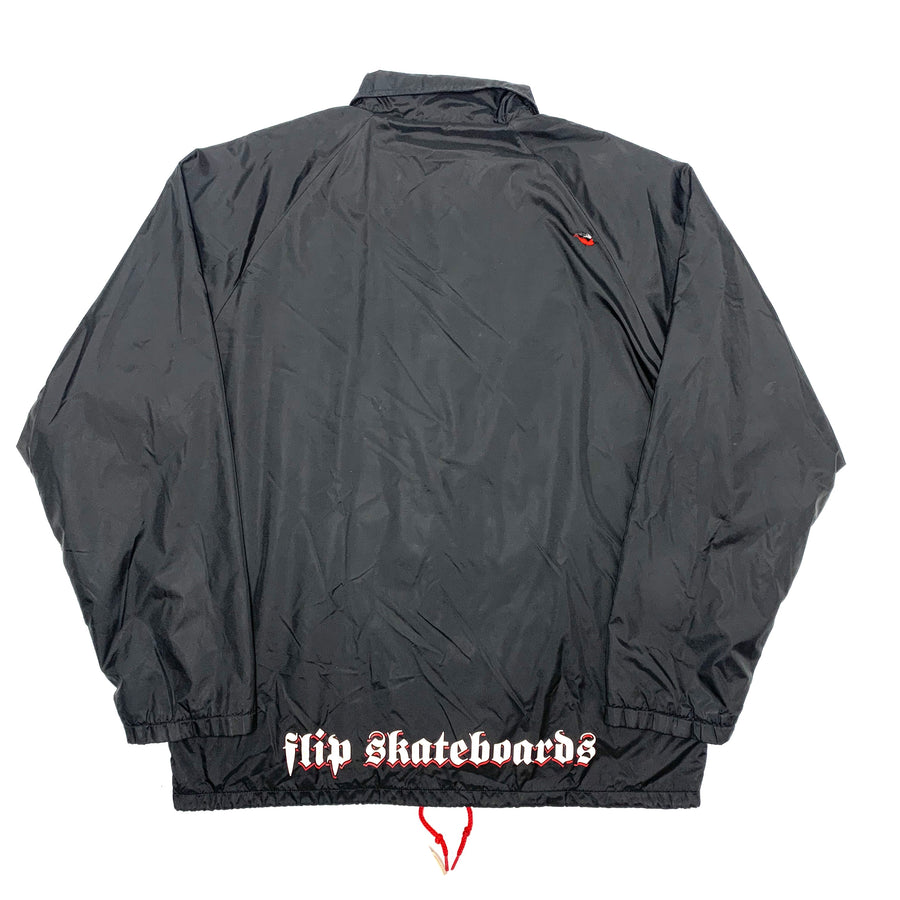 90's Flip Button up Windbreaker Jacket