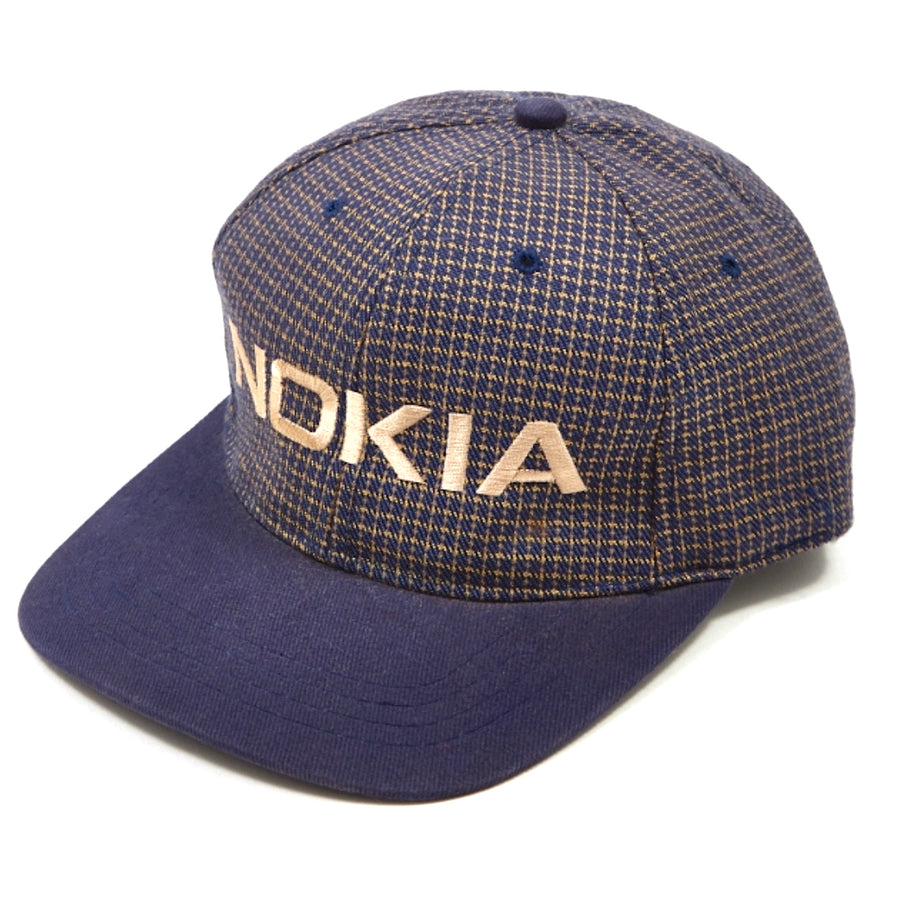 90's Nokia Cross Stitch Baseball Cap