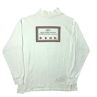 1992 Apple AOS Mockneck Longsleeve T-Shirt