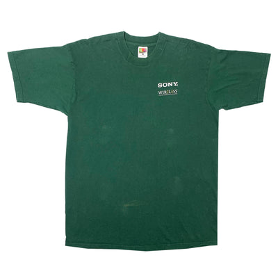 90's Sony D Wave Logo T-Shirt