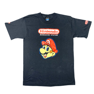 Early 90's Nintendo Magazine System Mario T-Shirt