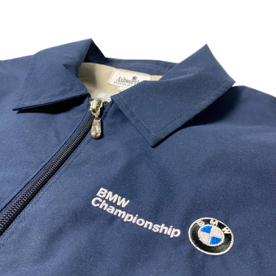 90's BMW Logo Harrington Zip Jacket