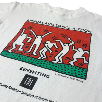 1993 Keith Haring AIDS Dance-a-thon T-Shirt