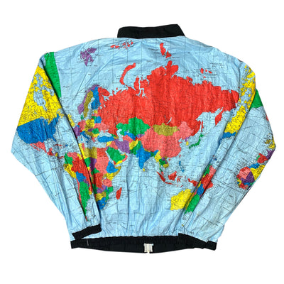 90's Globe Shell Zip Up Jacket