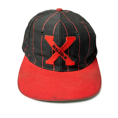 Early 90's Malcolm X Baseball Snapback Cap