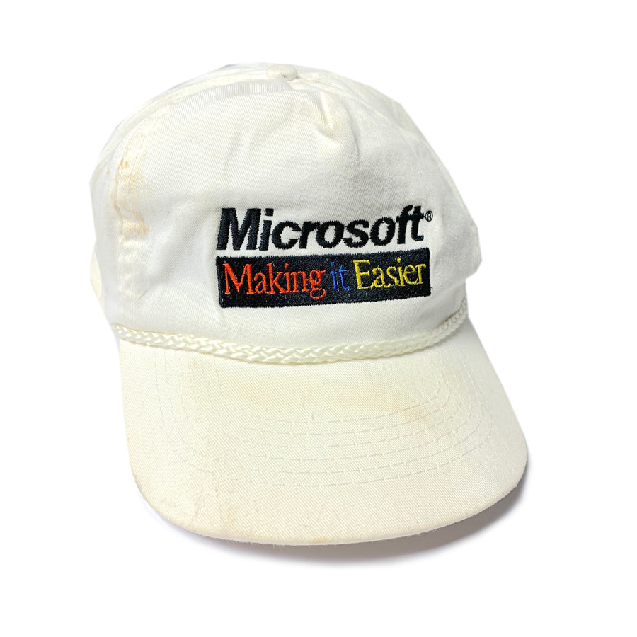 90's Microsoft Making it easier Cap
