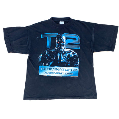 1991 Terminator T-2 Judgement Day T-Shirt