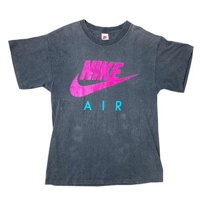 Early 90s Nike Air mirrored Logo T-Shirt