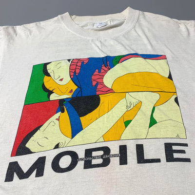 1992 'Mobile' Russian Rave T-Shirt