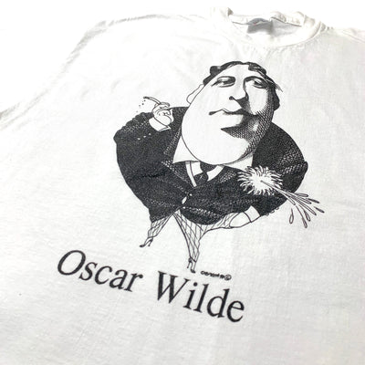 Early 90's Oscar Wilde Largely literary T-Shirt