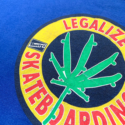 90's Shortys Legalize Skateboarding T-Shirt