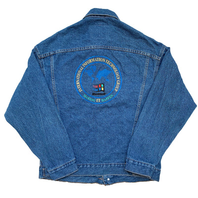 1995 Microsoft Windows '95 Denim Jacket
