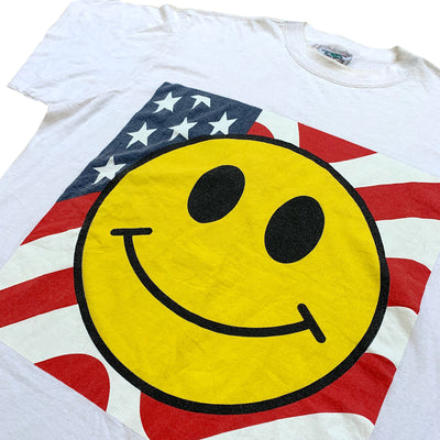 90's Smiley Face Acid House USA T-Shirt