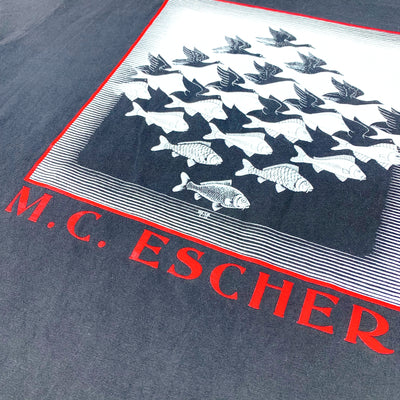 90's M.C. Escher Sky & Water Graphic T-Shirt