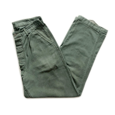 60s Swedish Military Field Trousers