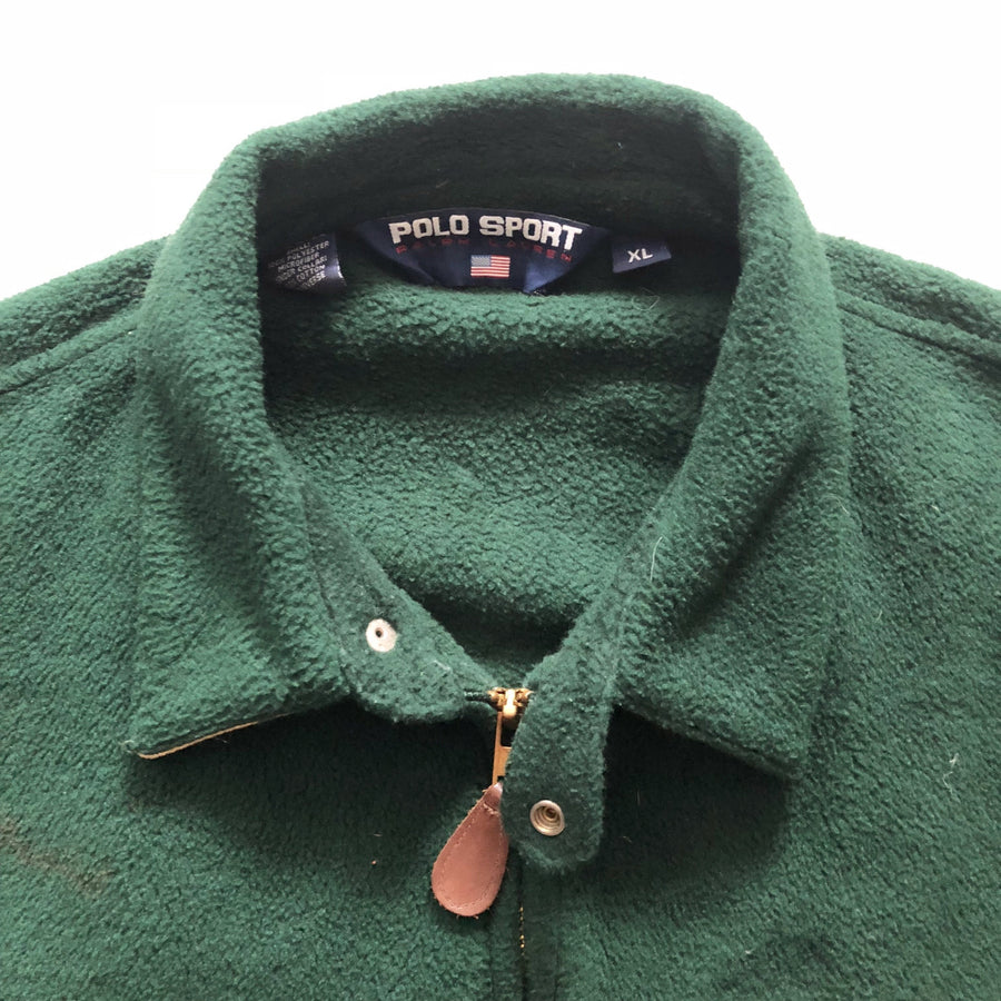 90s Polo Sport Zip Up Fleece