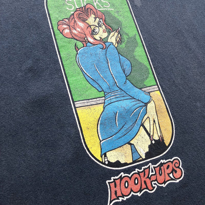 90s Hook Ups 'School Sucks' T-Shirt