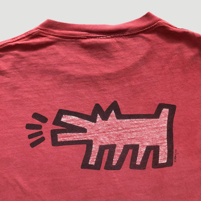 90s Keith Haring 'Radiant Baby' Pop Shop T-Shirt