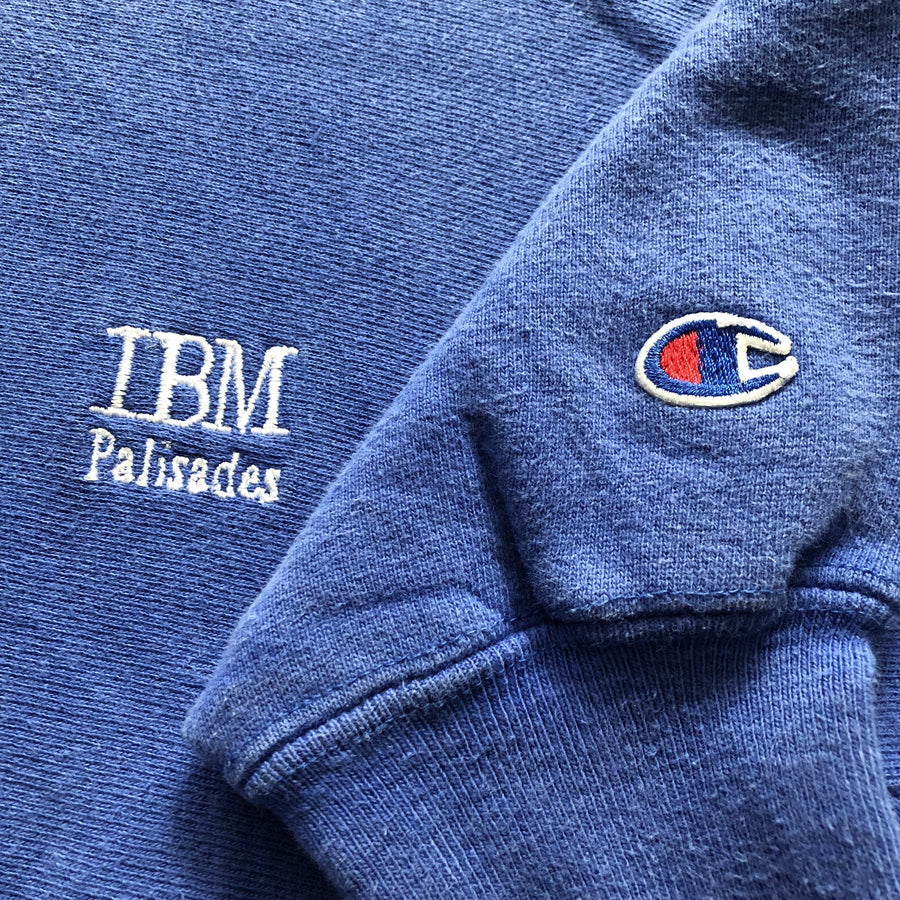 Early 90s Champion 'IBM' Reverse Weave Sweatshirt