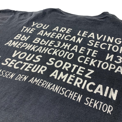 80's Berlin Checkpoint Charlie T-Shirt