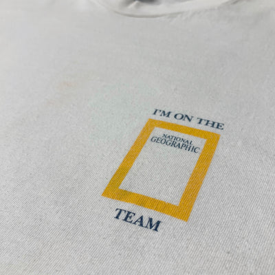1992 National Geographic Team T-Shirt