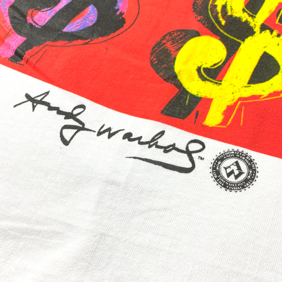 1996 Andy Warhol 'Dollar Sign' T-Shirt