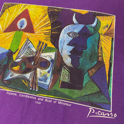 1995 Picasso 'Palette, Candlestick and Bust of Minotaur' T-Shirt