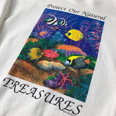 1990 Protect our Natural Treasures T-Shirt