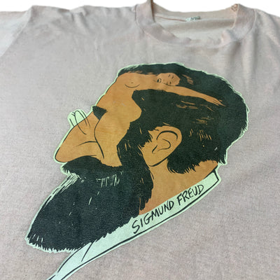 80's Sigmund Freud 'Man's Mind' T-Shirt
