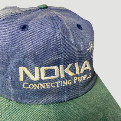 90's Nokia Connecting People Snapback Cap