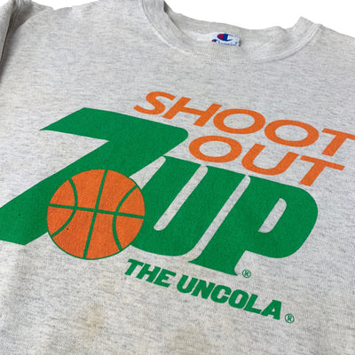 90's 7-UP Shoot Out Basketball Sweatshirt