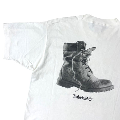 90's Timberland Give Racism the Boot. T-Shirt