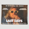 2005 Gus Van Sant 'Last Days' Rolled Cinematic Poster