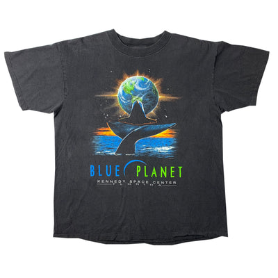 90's Kennedy Space Centre Blue Planet T-Shirt